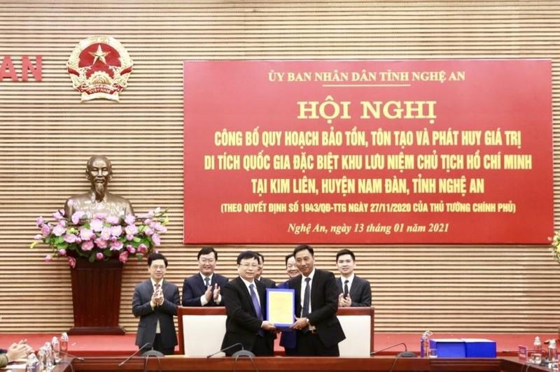 Tập đoàn T&T tài trợ thực hiện quy hoạch tại Khu lưu niệm Chủ tịch Hồ Chí Minh