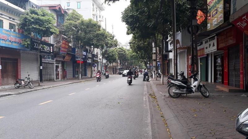 Ngày đầu cách ly xã hội, đường phố Hải Dương vắng bóng người