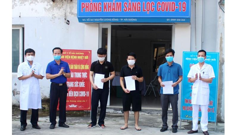 Ba bệnh nhân liên quan đến ổ dịch tại nhà hàng Thế giới bò tươi tại Hải Dương đã được xuất viện.