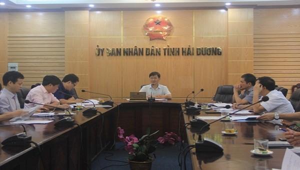 Chiều 22/9, Hải Dương  họp triển khai công tác chuẩn bị tổ chức Đại hội Thi đua yêu nước tỉnh lần thứ V (2020-2025)