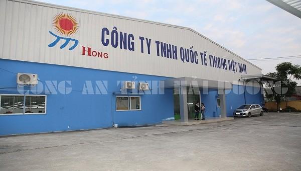 Công ty Yihong Việt Nam vừa bị phạt gần 100 triệu đồng do xả thải vượt quá tiêu chuẩn.