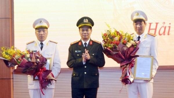 Hải Dương có thêm hai Phó Giám đốc công an tỉnh