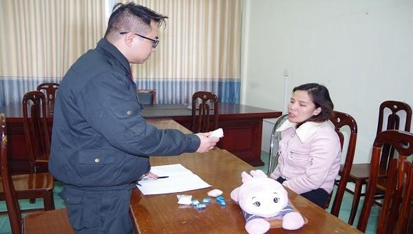 Người phụ nữ đi xe ôm từ Lạng Sơn về Hải Dương giao ma túy