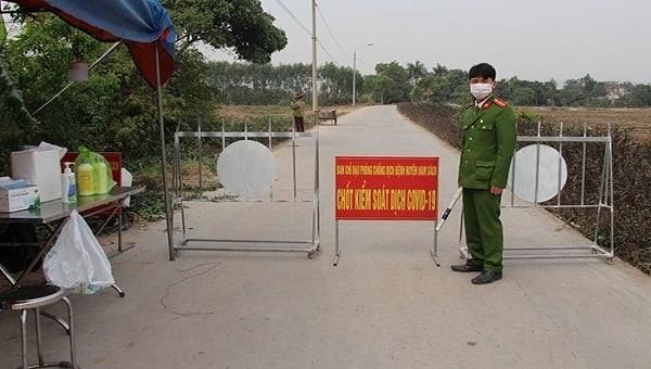 Hải Dương quyết định thiết lập vùng cách ly y tế toàn bộ địa bàn xã Kim Đính.