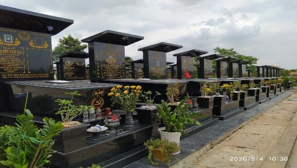 Cảnh báo tình trạng trộm vật dụng thờ cúng tại Nghĩa trang cán bộ ở Đồng Nai