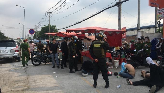 Đồng Nai: Triệt phá băng nhóm giang hồ thu tiền bảo kê ở ven khu công nghiệp Thạnh Phú