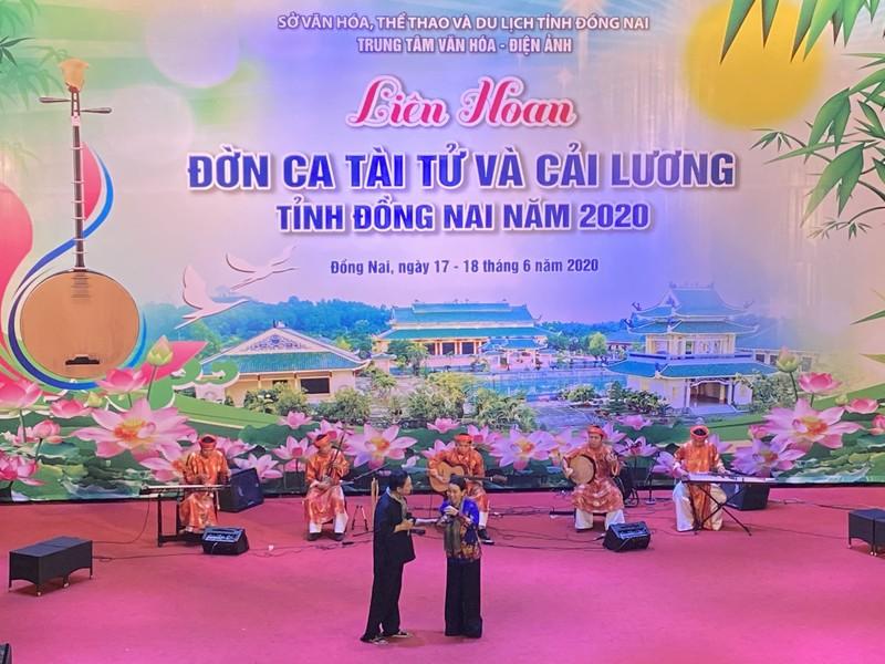 Liên hoan Đờn ca Tài tư và Cải lương tỉnh Đồng Nai năm 2020