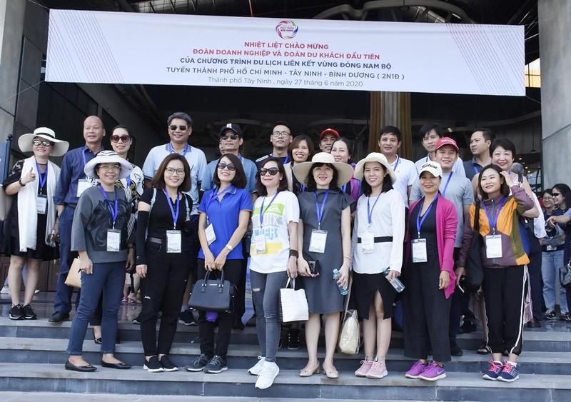 Doanh nghiệp Bà Rịa - Vũng Tàu khảo sát điểm du lịch tại Tây Ninh