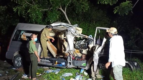 Bình Thuận: Tai nạn đặc biệt nghiêm trọng làm 8 người tử vong