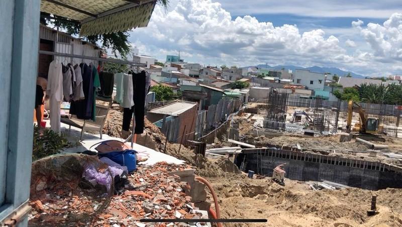 Hiện tại dự án Khu chung cư căn hộ nhà ở xã hội Phú Thịnh chỉ mới xây dựng tới phần móng của công trình.