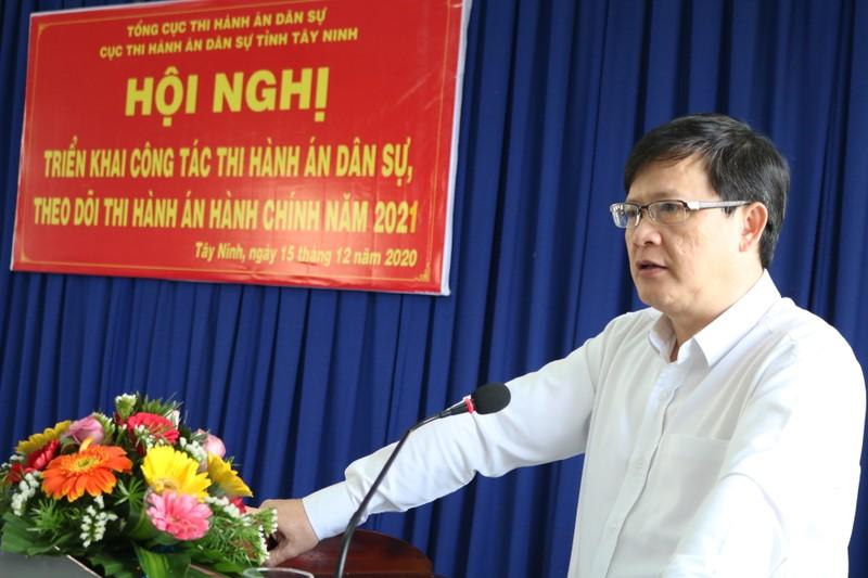 """Thứ trưởng Bộ Tư pháp Mai Lương Khôi:  """"Tây Ninh cần khẩn trương triển khai toàn diện công tác THADS ngay từ đầu năm"""""""