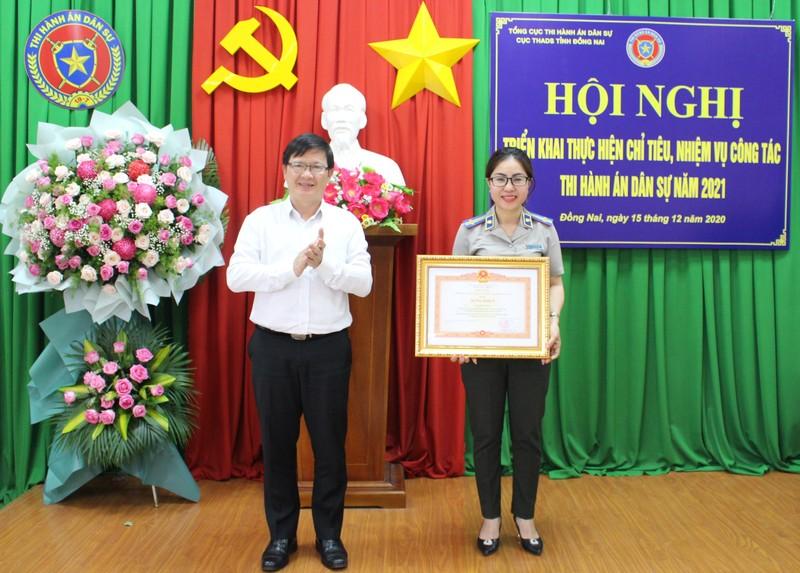 """Thứ trưởng Mai Lương Khôi:  """"Ngành THADS Đồng Nai cần phát huy hơn nữa tinh thần trách nhiệm người đứng đầu"""""""