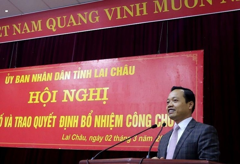 Lai Châu bổ nhiệm chức vụ lãnh đạo cho 3 công chức