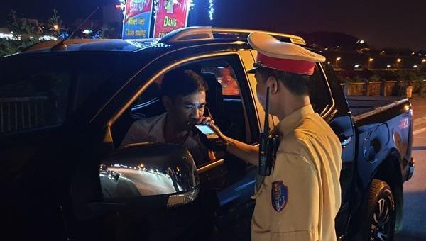 Lào Cai: Xử lý 645 trường hợp vi phạm nồng độ cồn khi điều khiển phương tiện tham gia giao thông
