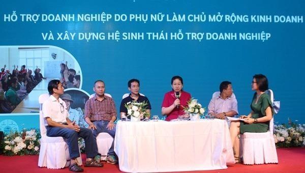 """Khởi động Dự án """"Thúc đẩy doanh nghiệp nữ Lào Cai mở rộng kinh doanh"""""""