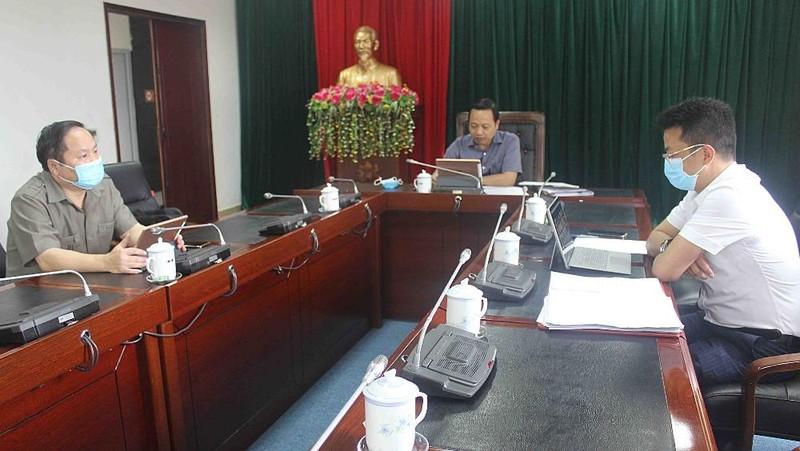 Chủ tịch UBND tỉnh Lai Châu Trần Tiến Dũng chủ trì buổi họp trực tuyến toàn tỉnh về thực hiện công tác phòng, chống dịch Covid-19 hôm 4/8.