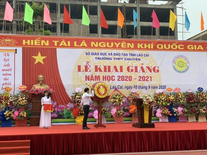 Lào Cai: Khai giảng năm học mới ngắn gọn nhưng đầy ý nghĩa