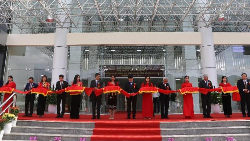 Khánh thành Bệnh viện Đa khoa Sơn La với 550 giường