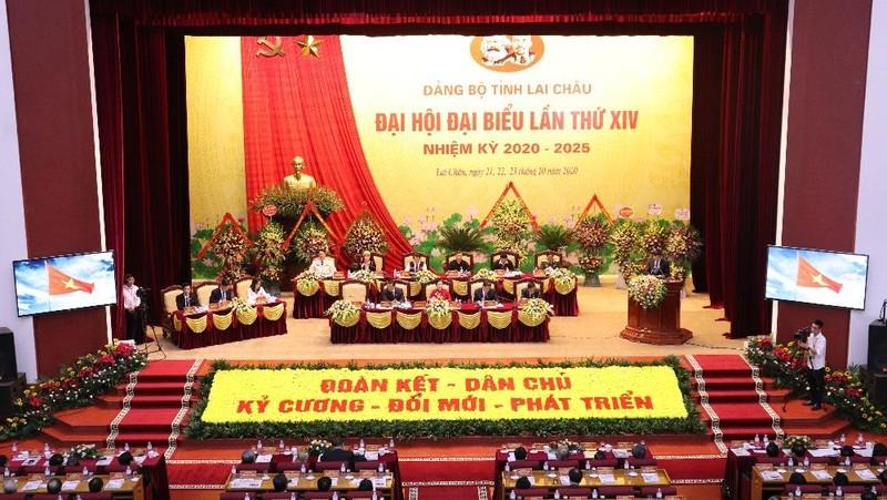 Đại hội Đại biểu Đảng bộ tỉnh Lai Châu lần thứ XIV, nhiệm kỳ 2020 - 2025.