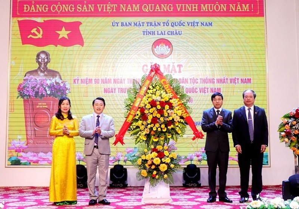 Lai Châu: Kỷ niệm 90 năm ngày thành lập Mặt trận Dân tộc thống nhất Việt Nam
