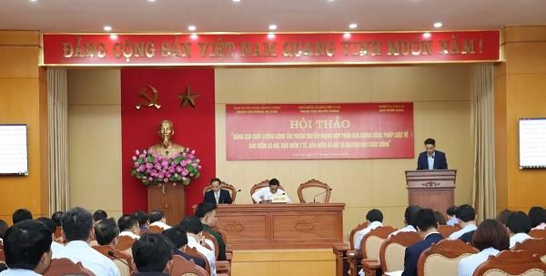 Lào Cai: Nâng cao chất lượng công tác tuyên truyền pháp luật về bảo hiểm xã hội