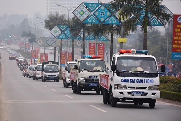 Lào Cai: Phấn đấu giảm tối thiểu 5% cả 3 tiêu chí tai nạn giao thông so với năm 2020