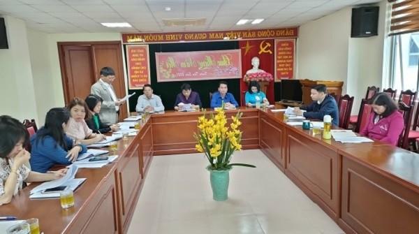 Sở Tư pháp tỉnh Lào Cai họp giao ban công tác Tư pháp tháng 02/2021