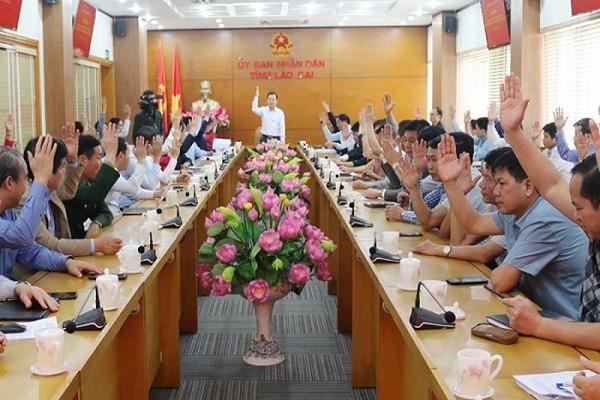 Lào Cai có 2 đơn vị bầu cử Đại biểu Quốc hội