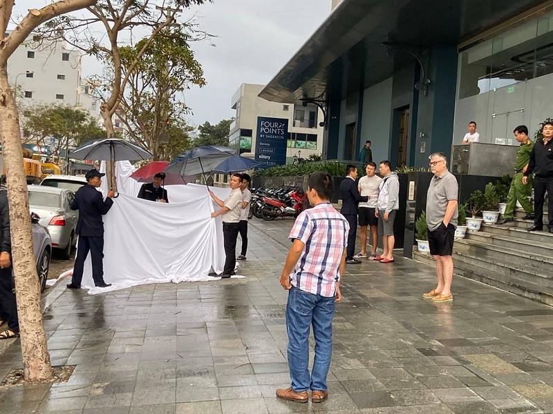 Người đàn ông rơi từ tầng 11 căn hộ Luxury ở Đà Nẵng