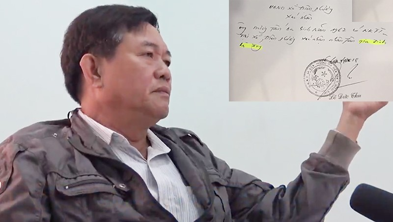 Quảng Nam: Chủ tịch xã 'tiếp tay' cho việc chiếm dụng đất của người dân