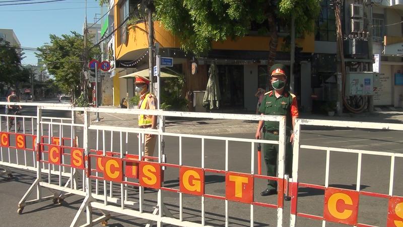 Phong tỏa một số tuyến đường Đà Nẵng