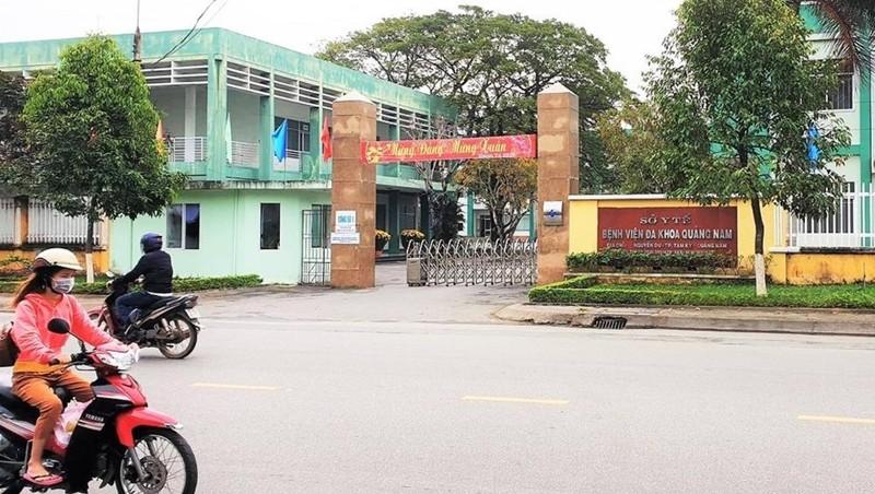 Bệnh viện Đa khoa Quảng Nam.