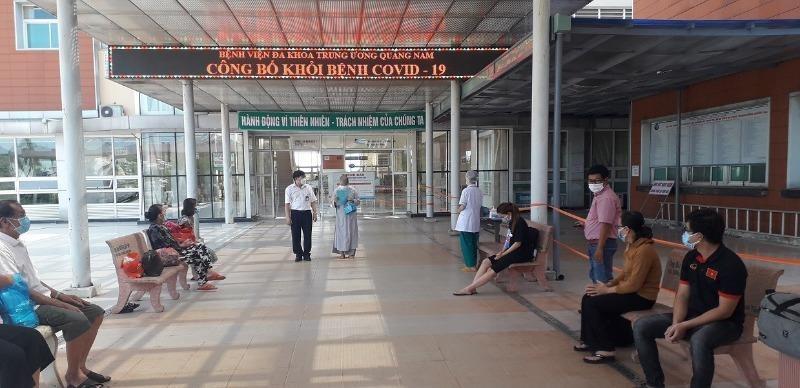 Thêm 19 bệnh nhân Covid-19 được xuất viện ở Quảng Nam