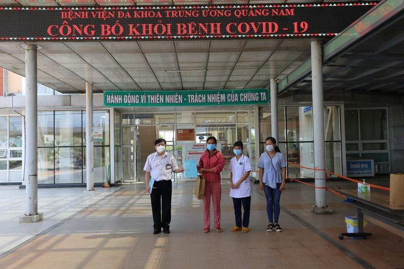 Thêm 4 bệnh nhân mắc Covid-19 ở Quảng Nam xuất viện