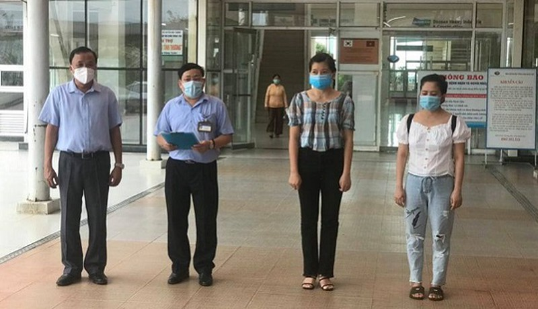Hai bệnh nhân COVID-19 cuối cùng tại Quảng Nam xuất viện