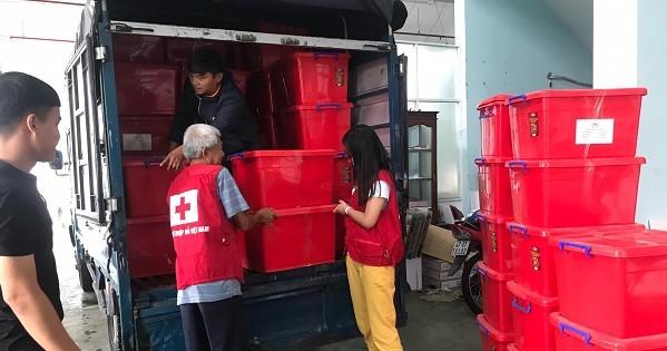 Hỗ trợ khẩn cấp hộ dân 3 tỉnh Quảng Bình, Quảng Trị, Quảng Nam
