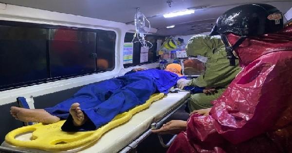 Cứu kịp thời 2 ngư dân trôi dạt trên biển