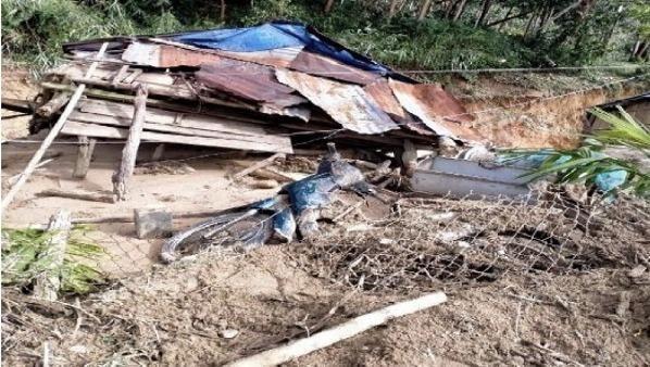 Lũ quét kinh hoàng cuốn trôi 6 nhà dân ở Quảng Ngãi