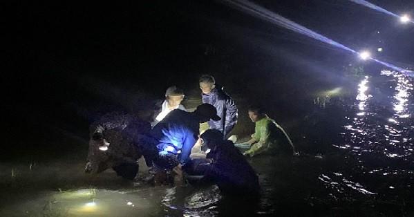 Tìm thấy thi thể người đàn ông nhảy xuống nước cứu người đi liều qua vùng ngập