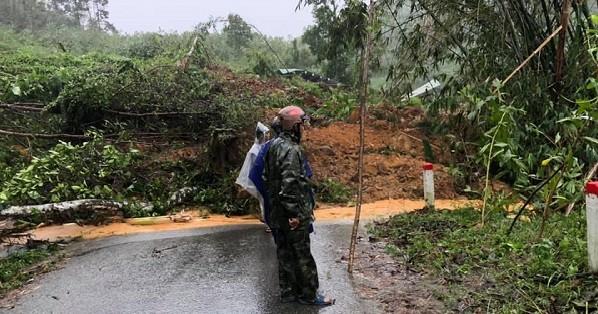 Sạt lở núi Quảng Nam, một phụ nữ thiệt mạng