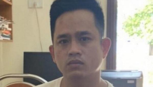 Nguyễn Văn Chiến tại cơ quan công an.