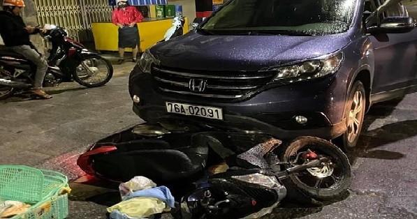 Phạt 46 triệu đồng, tước bằng lái xe 23 tháng nữ tài xế điều khiển ô tô gây tai nạn