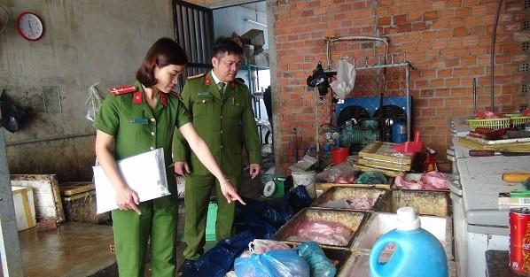 Quảng Nam: Xử lý cơ sở chế biến sản phẩm động vật không đảm bảo vệ sinh an toàn thực phẩm