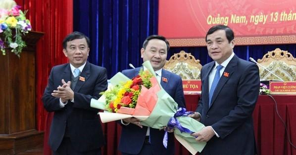 HĐND tỉnh Quảng Nam khóa IX bầu Phó Chủ tịch HĐND tỉnh