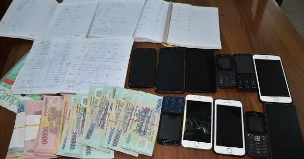 Sử dụng phần mềm trên điện thoại di động để ghi bán số đề hơn 30 tỷ đồng