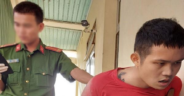 Đối tượng tên Võ Quang Sa bị Công an bắt giữ
