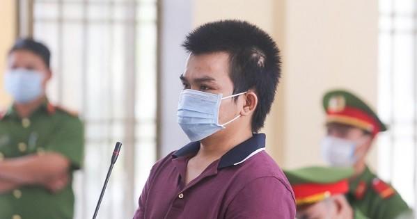 Bị cáo Nguyễn Thanh Hà tại TAND tỉnh Quảng Nam.