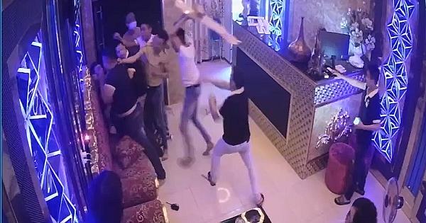 Nhóm côn đồ hành hung nhân viên, đập phá quán karaoke