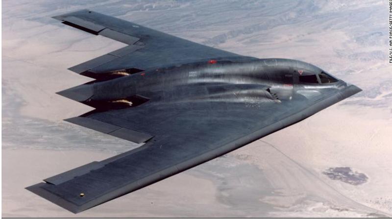 Chiếc máy bay thả bom B2 của quân đội Mỹ