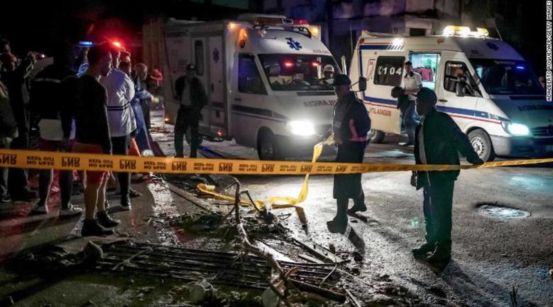 Lốc xoáy khổng lồ ở Cuba giết chết 3 người, làm bị thương 172 người
